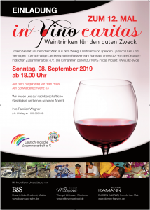 In Vino Caritas - 08. September 2019