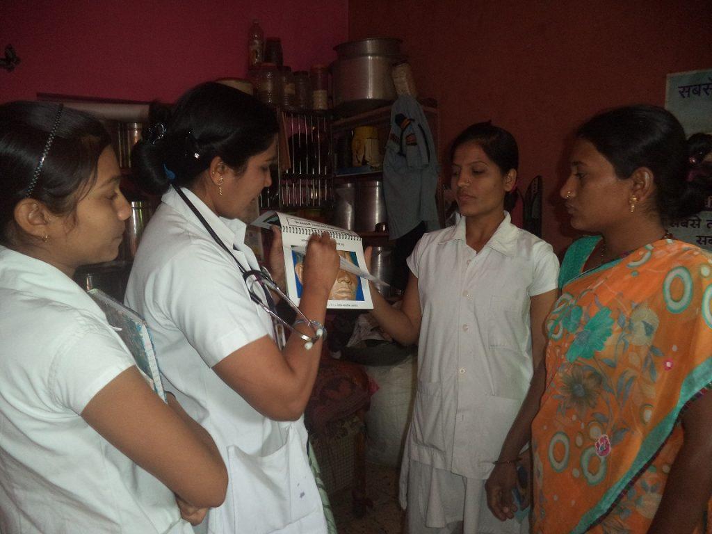 Aufklärung über Lepra und Tuberkulose