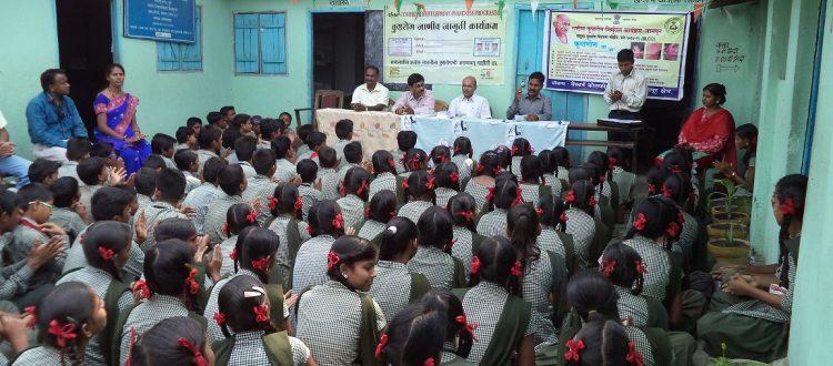 Lepra Aufklärung in Indien